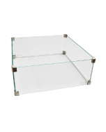Easy Fires Glasverkleidung quadratisch