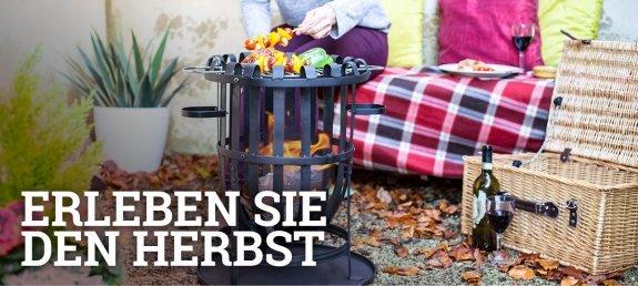 Erleben Sie den Herbst mit Feuerkorb-shop.de