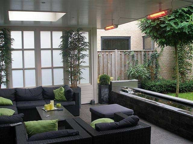 Terrasverwarming veranda
